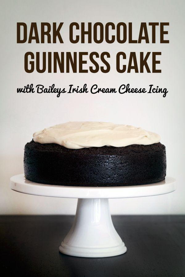 """<p>How can anything go wrong when there's chocolate, Guinness, Bailey's <em>and</em> cream cheese frosting involved?</p><p><a href=""""http://loveswah.com/2013/03/dark-chocolate-guinness-cake-with-baileys-cream-cheese-icing/"""" rel=""""nofollow noopener"""" target=""""_blank"""" data-ylk=""""slk:Get the recipe from Love Swah »"""" class=""""link rapid-noclick-resp""""><em>Get the recipe from Love Swah »</em></a><br></p>"""