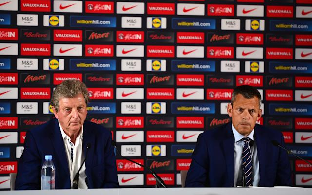 Roy Hodgson is tipped to succeed Frank de Boer at Crystal Palace