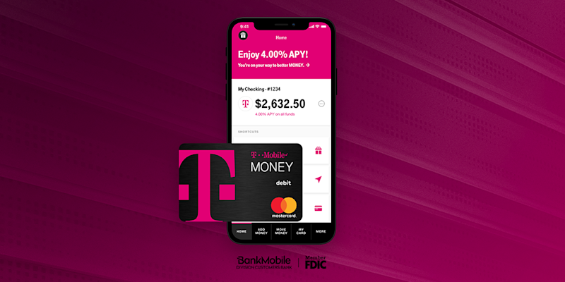 The T-Mobile Money app