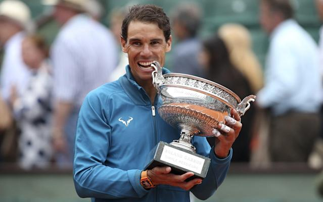 Nadal has opted to withdraw from Queen's to preserve his body after winning 11th French Open on Sunday - Getty Images Europe