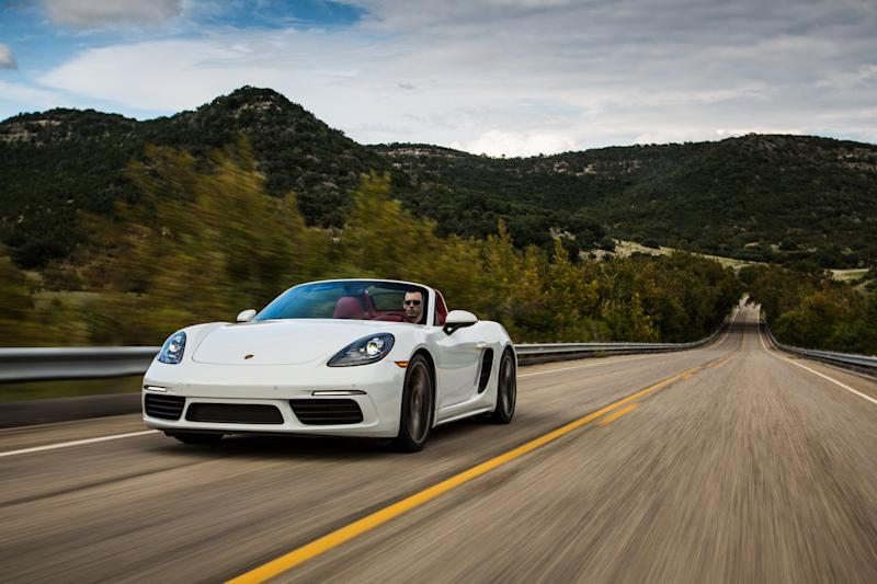 porsche not downsizing news details quotes boxster s first drive