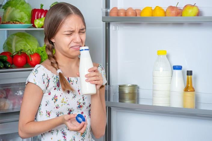 """<span class=""""caption"""">Imagine not being able to tell if the milk is off?</span> <span class=""""attribution""""><a class=""""link rapid-noclick-resp"""" href=""""https://www.shutterstock.com/image-photo/beautiful-young-teen-girl-holding-bottle-1511721308"""" rel=""""nofollow noopener"""" target=""""_blank"""" data-ylk=""""slk:VaLiza/Shutterstock"""">VaLiza/Shutterstock</a></span>"""