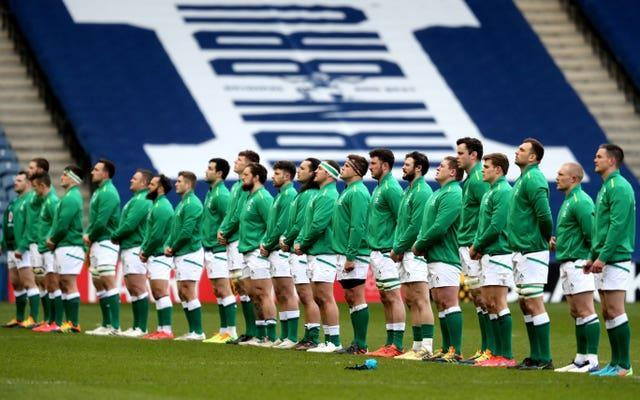 Ireland are coming off the back of a win against Scotland