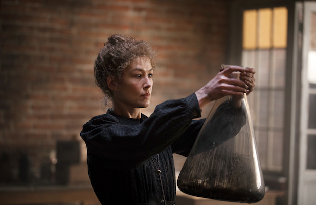 'Radioactive' Film Review: Rosamund Pike Glows as Marie Curie in Curious Biopic
