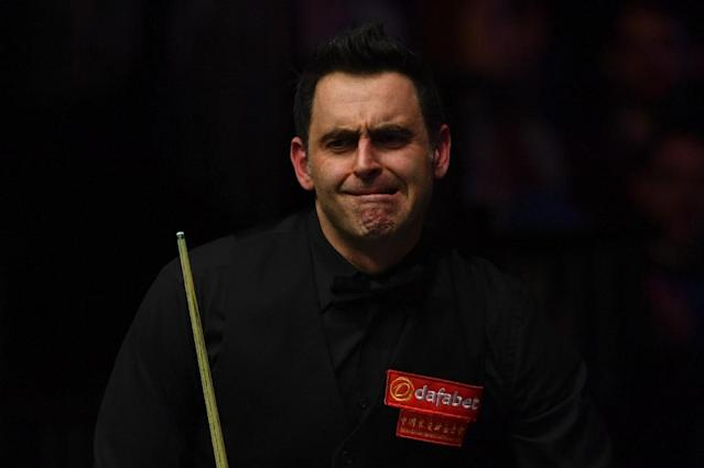 """England's Ronnie O'Sullivan has insisted he was done with being """"bullied"""" and """"intimidated"""" by officials (AFP Photo/Ben STANSALL)"""