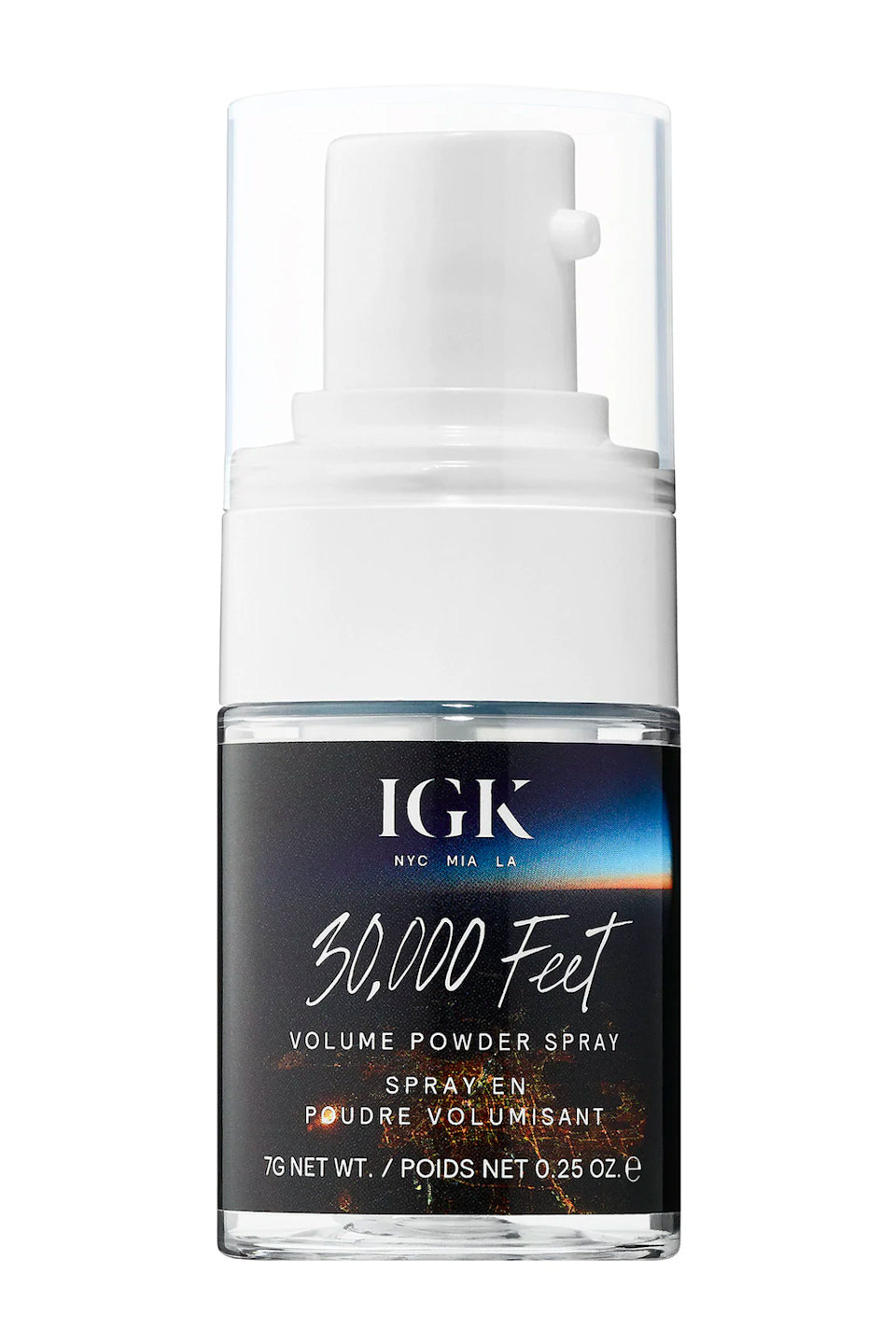 """<p><strong>IGK</strong></p><p>sephora.com</p><p><strong>$32.00</strong></p><p><a href=""""https://go.redirectingat.com?id=74968X1596630&url=https%3A%2F%2Fwww.sephora.com%2Fproduct%2F30-000-feet-volume-powder-spray-P428238&sref=https%3A%2F%2Fwww.cosmopolitan.com%2Fstyle-beauty%2Fbeauty%2Fg34362098%2Fbest-hair-volumizing-powder%2F"""" rel=""""nofollow noopener"""" target=""""_blank"""" data-ylk=""""slk:Shop Now"""" class=""""link rapid-noclick-resp"""">Shop Now</a></p><p>Where's my fine-hair squad at? Trust me when I say this root-lifting spray is about to be your new go-to. The ultra-lightweight formula is spiked with bentonite clay to <strong>gently add texture and grit to the <a href=""""https://www.cosmopolitan.com/style-beauty/beauty/a19642775/fine-hair-styling-tips/"""" rel=""""nofollow noopener"""" target=""""_blank"""" data-ylk=""""slk:finest, flattest hair"""" class=""""link rapid-noclick-resp"""">finest, flattest hair</a></strong>, and since it goes on totally clear, you don't have to worry about any white marks showing up. I like to keep this bb close by for quick touchups.</p>"""
