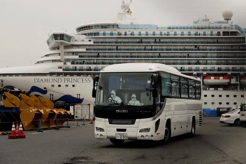 US to fly home Americans stuck on quarantined ship in Japan
