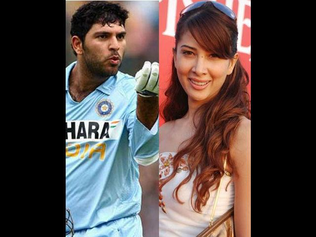 <p><strong>Kim Sharma-Yuvraj Singh</strong><br /><br />The flamboyant boy of Indian Cricket Yuvraj Singh is very much known for his off-field charm. His name has been linked to the who's who of Bollywood. But it was the beautiful Kim Sharma who first clean bowled the cricketer. Their relationship was the talk of town. However, things did not work out for this glam couple and they broke up after a while.</p>
