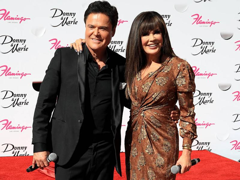 Marie Osmond starved herself to lose weight as a teenager