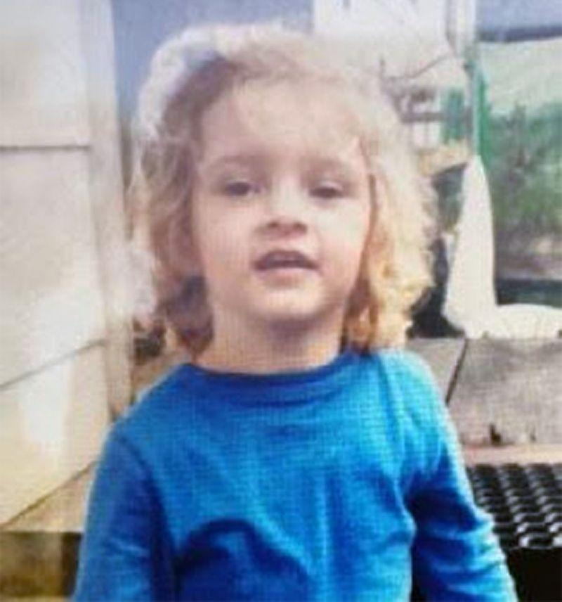 The three-year-old girl went missing on a property at Cootharaba on the Sunshine Coast. Source: Queensland Police