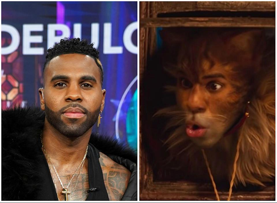 """Jason Derulo had very, very high hopes for """"Cats,"""" in which he made his on-screen debut as Rum Tum Tugger. (Photo: Getty Images)"""