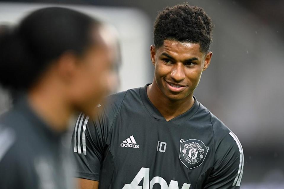 """Marcus Rashford was """"so proud"""" of those who had united behind his campaign on social media, promising to """"fight for the rest of my life"""" to end child hunger in Britain."""