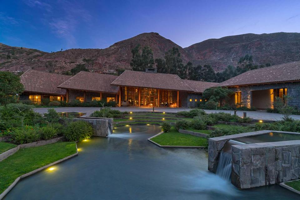 Tambo del Inka resort, voted one of the best hotels in the world