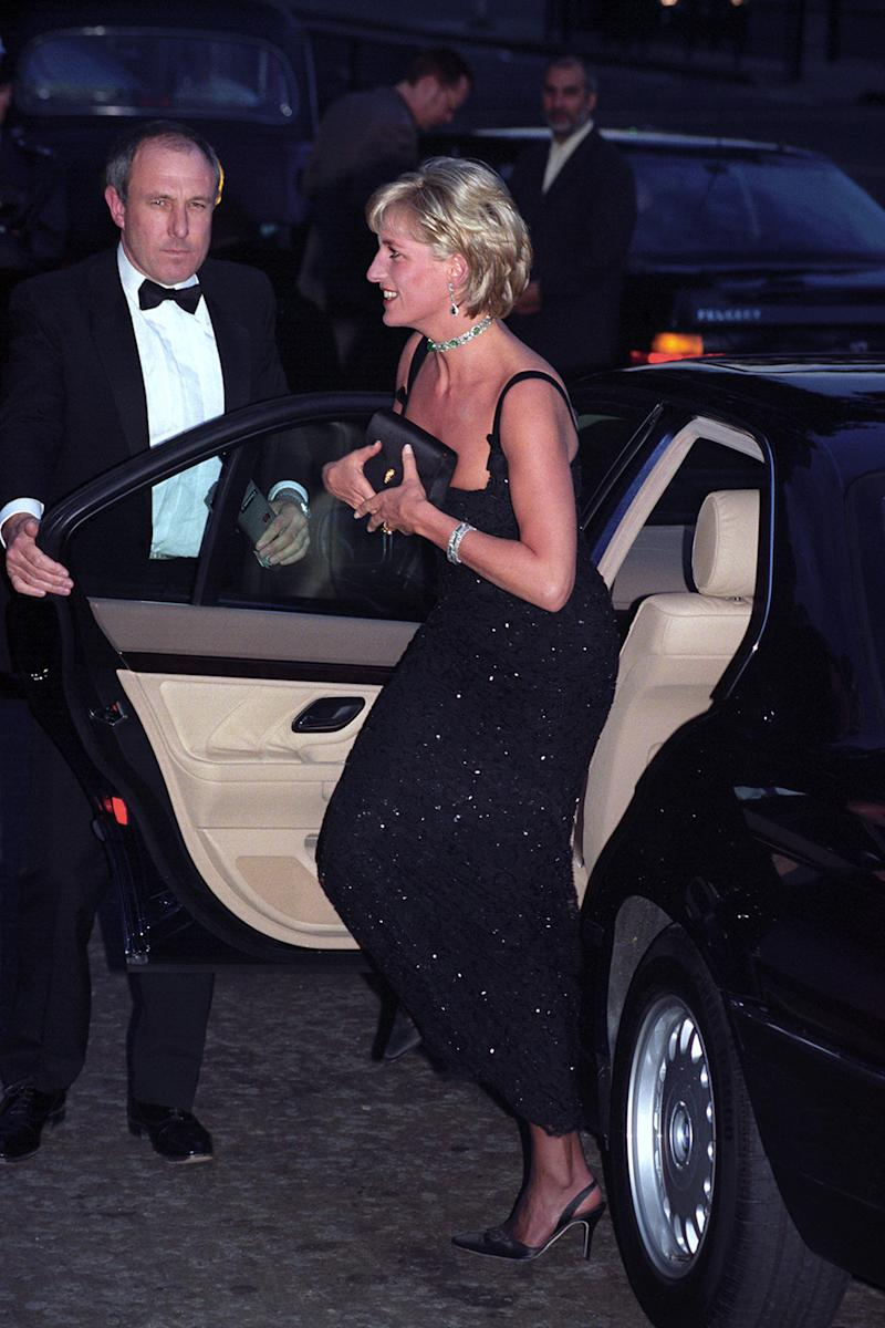 Cleavage bags': Why Princess Diana was so fond of clutches