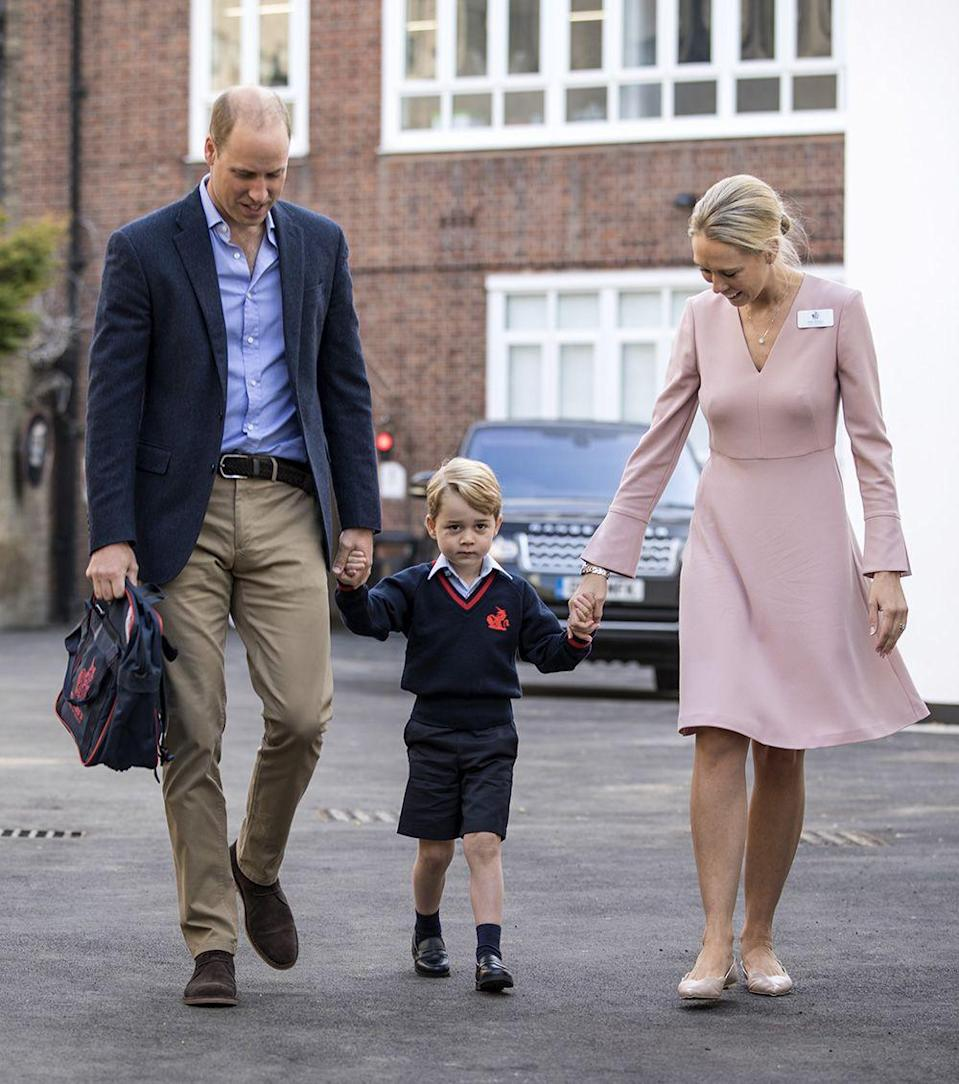 <p>Prince George recently started primary school at Thomas's Battersea School, an elite private school in London. Prince William and Prince Harry both attended private school growing up. </p>