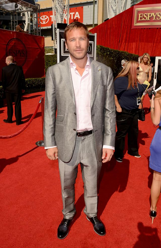 LOS ANGELES, CA - JULY 11: Alpine Skiier Bode Miller arrives at the 2012 ESPY Awards at Nokia Theatre L.A. Live on July 11, 2012 in Los Angeles, California. (Photo by Jason Merritt/Getty Images)