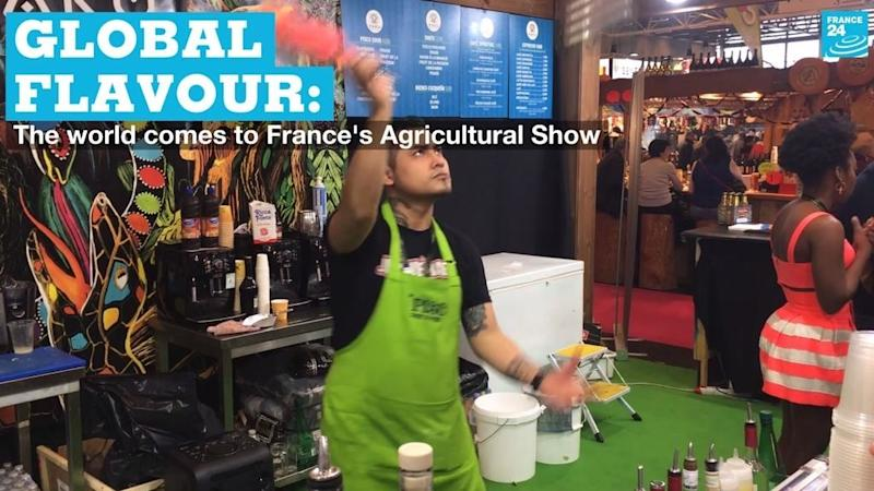 Global flavours: The world comes to Paris Agricultural Show