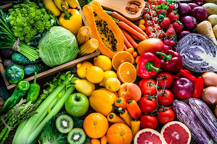 """Lisa Ballehr advises people to """"eat the rainbow"""" in order to boost the immune system."""