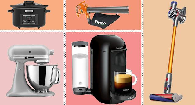 These are the best Black Friday deals on household and kitchen appliances. [Photo: Yahoo Style UK]