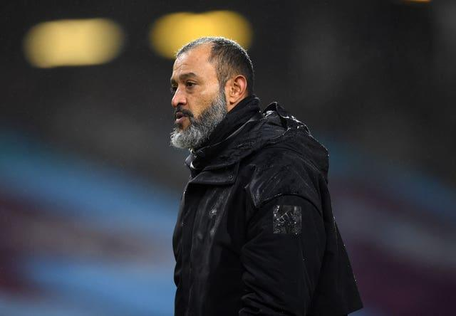 Nuno Espirito Santo admitted Wolves were not convincing