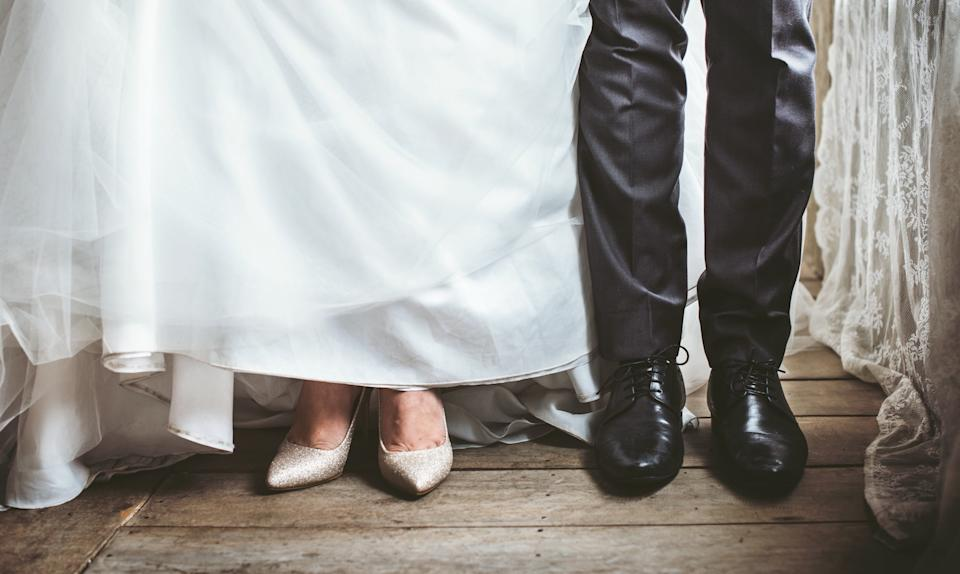 What would you do in the groom's shoes? [Photo: Getty]