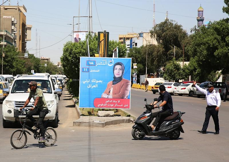 Campaigning is underway for Iraq's first parliamentary elections since the defeat of the Islamic State