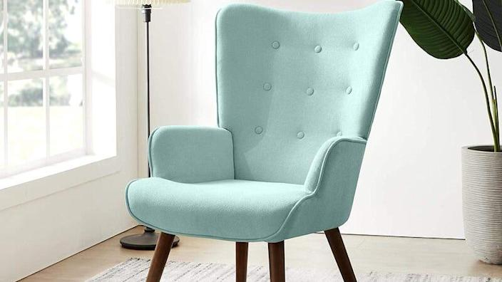 This chair will brighten up any space.