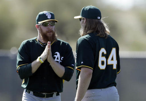Griffin looks to pile up innings for A's staff