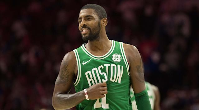 Kyrie Irving has averaged 20.3 points and 5.2 assists this season. (AP)