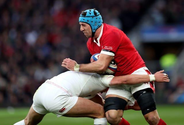 Wales flanker Justin Tipuric, right, made the most Six Nations tackles
