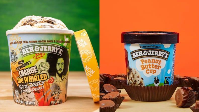 Treat yourself to ice cream that is environmentally conscious.