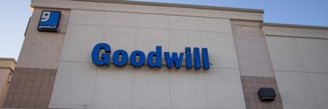 Goodwill Industries store.