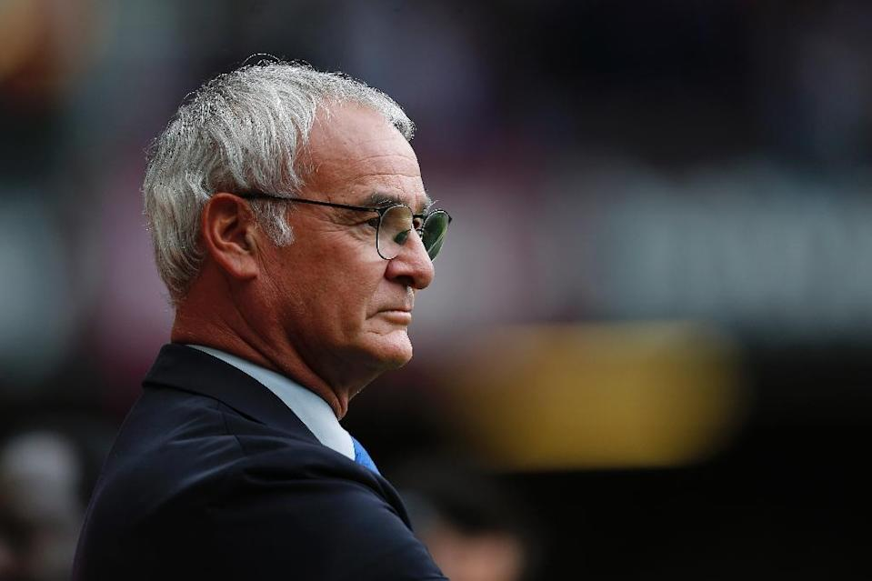 Leicester City's manager Claudio Ranieri watches an English Premier League match at the Boleyn Ground in London, on August 15, 2015 (AFP Photo/Justin Tallis)