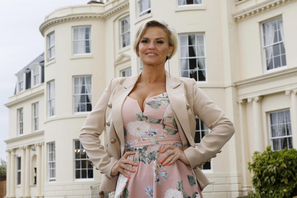 Kerry Katona has opened up on struggling with anxiety. (Photo by Antony Thompson for The Hygrove via Getty Images)