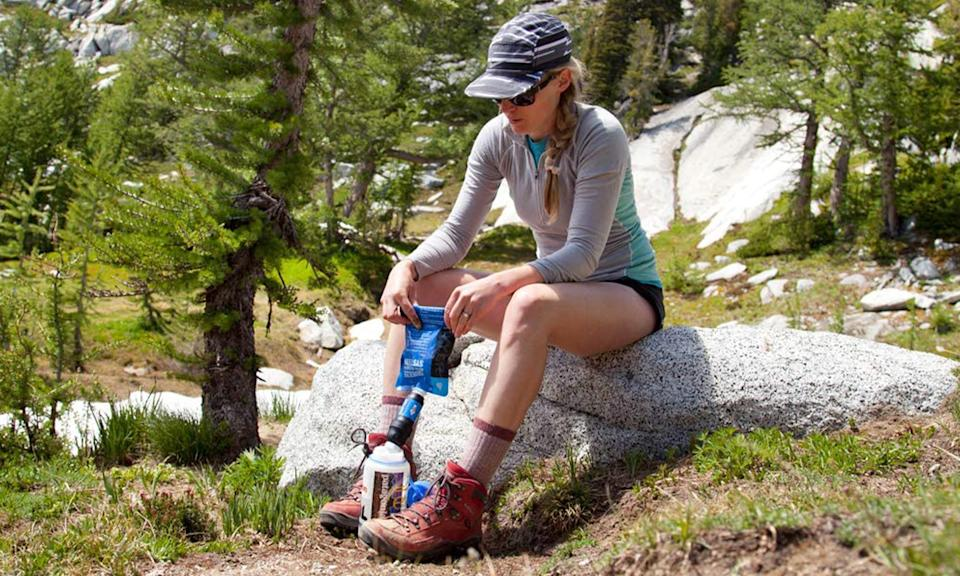 Sawyer Squeeze water filtration