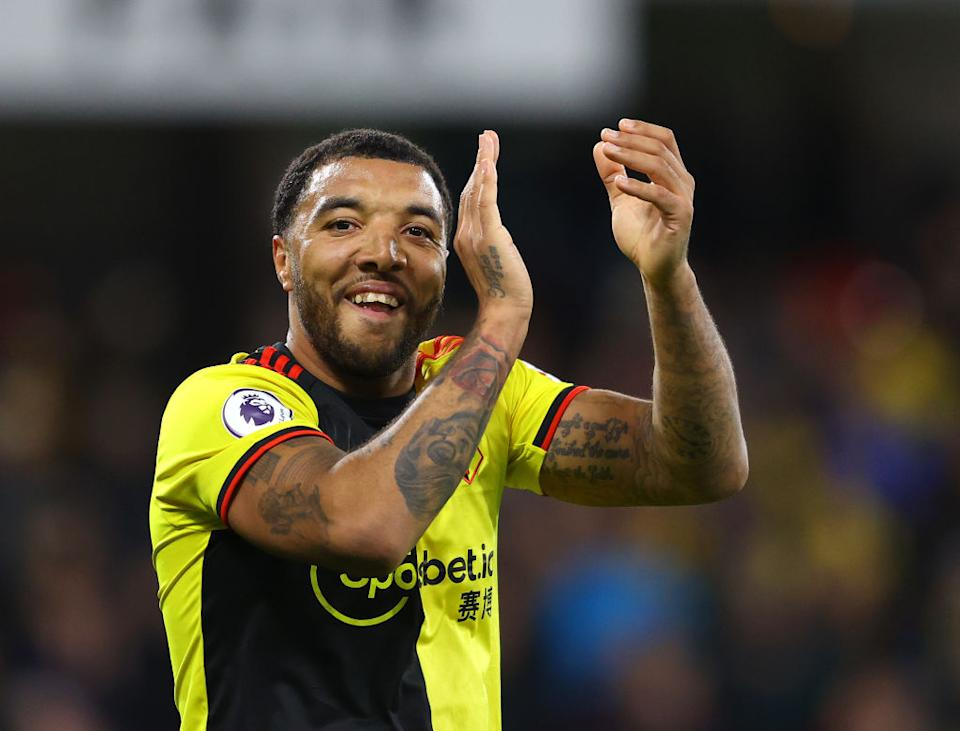 """<span>Since that trying first year with the Hornets, Deeney hasn't looked back, making his way into the """"Watford's best players ever"""" conversation with a remarkable 129 goals in 388 appearances. Only club legends Luther Blissett – considered by many as the best Hornet ever – and John Barnes have more top-flight gals than Deeney himself. </span>"""