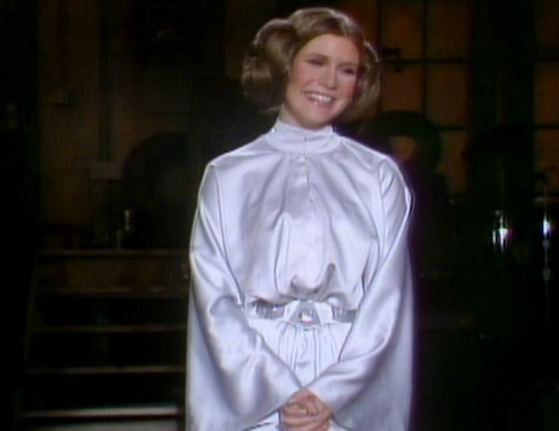"Carrie Fisher's ""SNL"" performance from the '70s is available online, and as expected, it's magical"