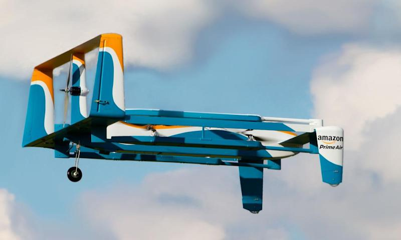 Amazon and Google have pushed to expand drone deliveries.