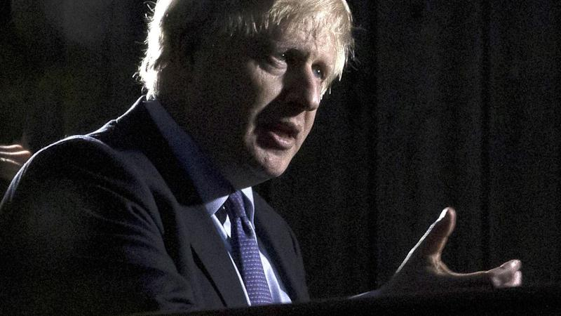 Boris Johnson says Donald Trump shouldn't get involved in the UK election when in London next week