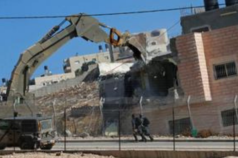 Israel Demolishes Palestinian Homes in Jerusalem Area; France Condemns Move