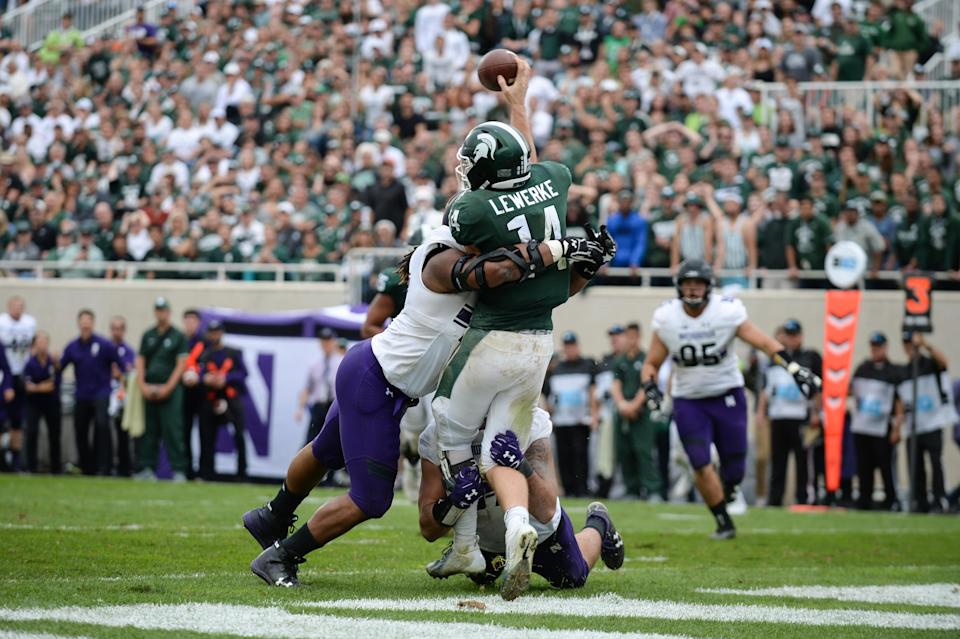Michigan State now has two losses in 2018. (Getty)