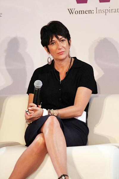 Ghislaine Maxwell, pictured in 2013, is accused of recruiting Giuffre and other high-school age girls to perform sexual favours for Epstein (AFP Photo/Laura Cavanaugh)