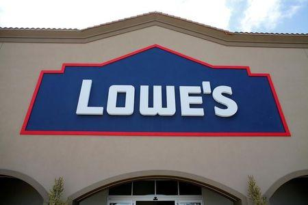 FILE PHOTO -  A Lowe's hardware story is show in Carlsbad, California