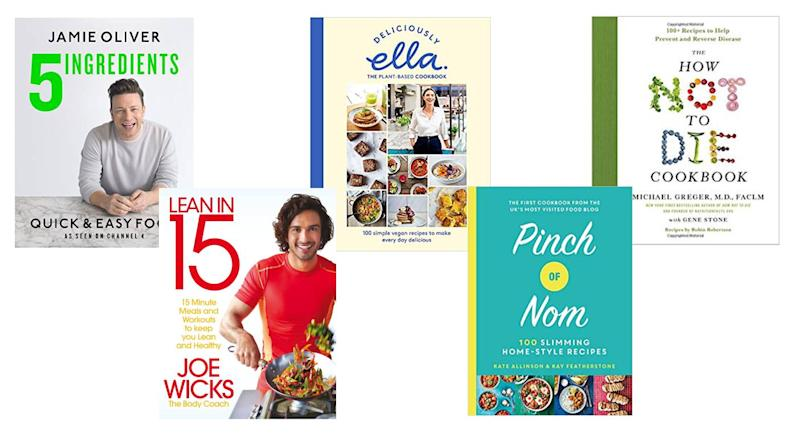There has been a rise in best-selling cookbooks in the latter half of the decade. [Photo: Amazon]