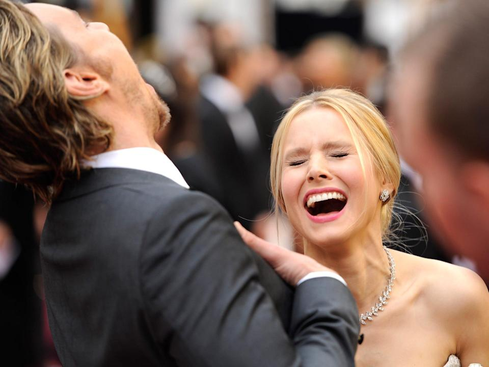 Dax Shepard and Kristen Bell AP Images