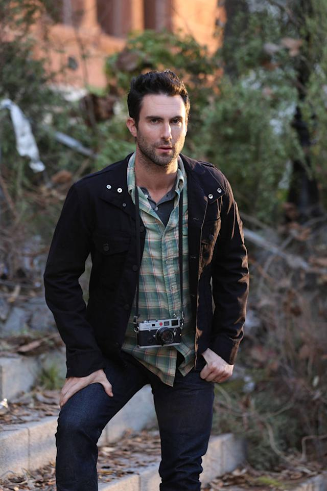 """Adam Levine as Leo in """"Welcome to Briarcliff,"""" the Season Two premiere episode of """"American Horror Story: Asylum"""" on FX."""