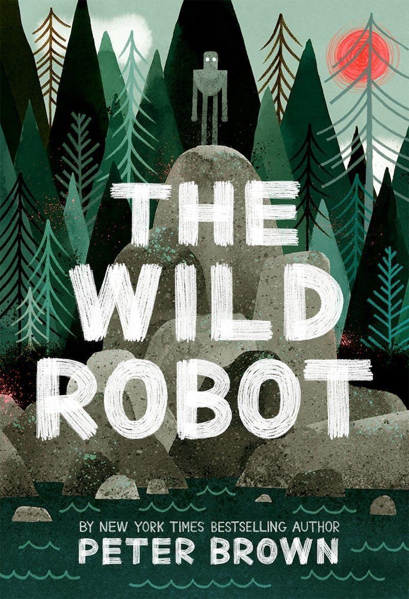 Book cover of The Wild Robot