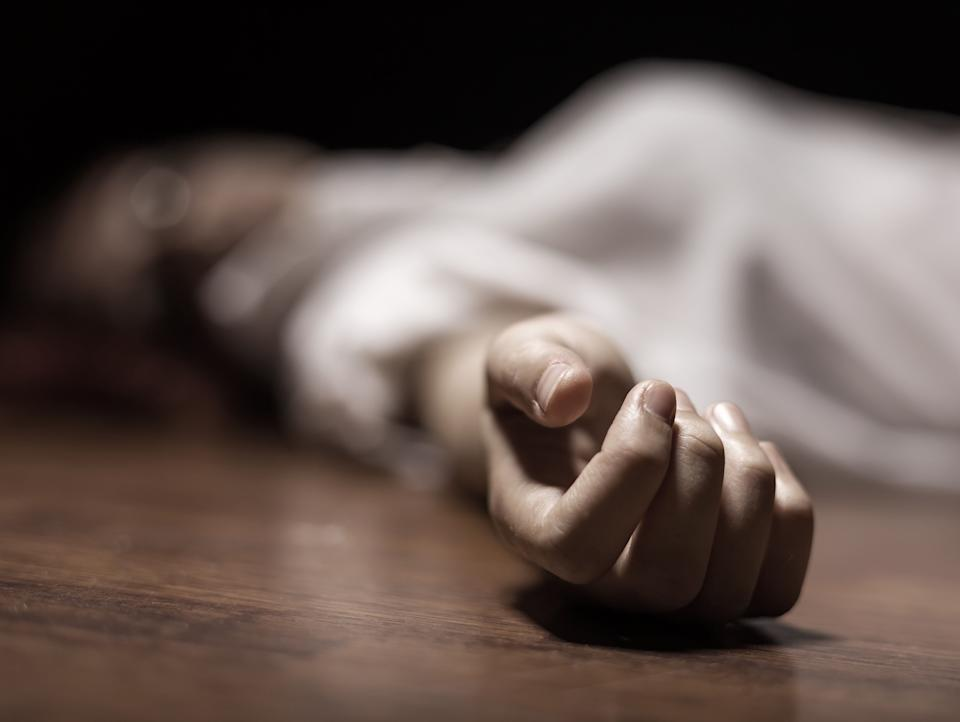 The dead woman's body. Focus on hand (Photo: Artem_Furman via Getty Images)