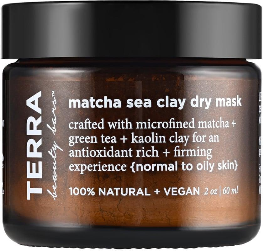 <p>The <span>Terra Beauty Bars Matcha Sea Clay Dry Mask</span> ($17) is rich in antioxidants and can help diminish acne.</p>