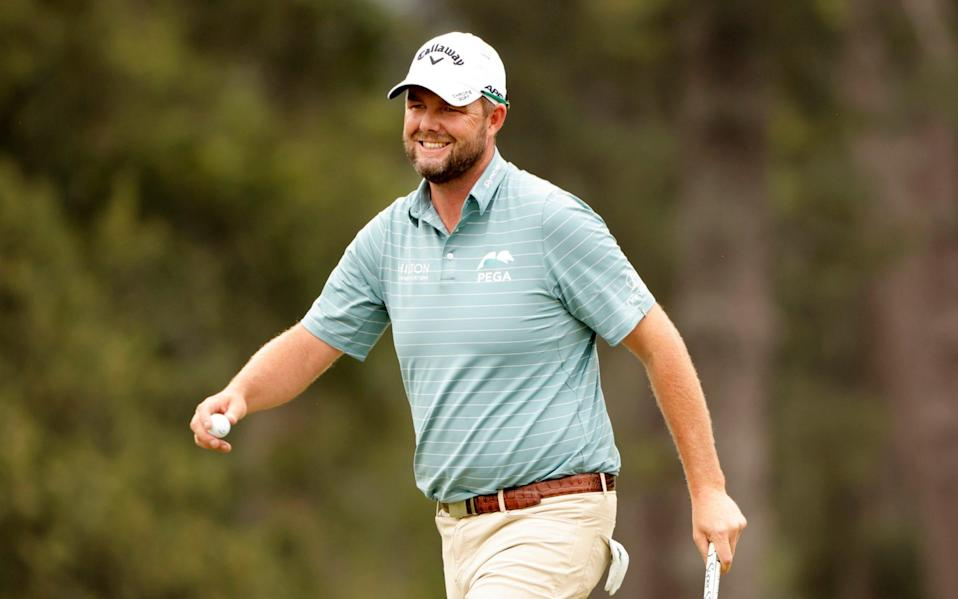 Marc Leishman moved to three-under for the tournament - REUTERS
